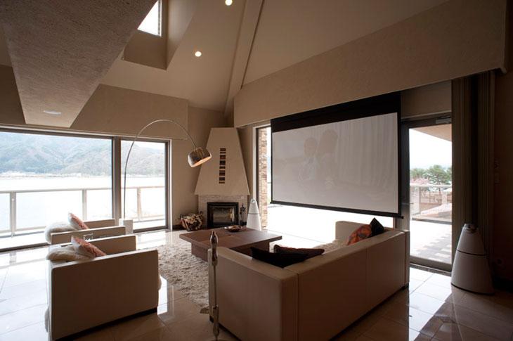 W邸 / 建築に組み込むことで、空間の均整を保つ。こだわりの空間を美しく仕上げます。