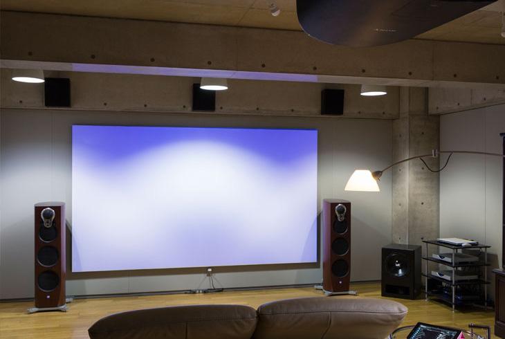 K邸 / 自分だけのシアタールーム。光環境と音環境へのこだわりを実現した空間です。