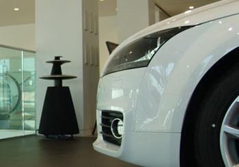 image Audi 天白ショールーム B&O BeoLab5