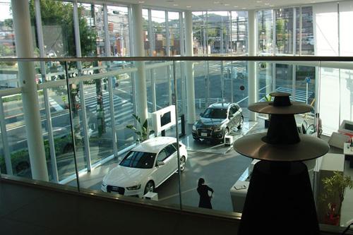Audi 天白ショールーム / Audi & Bang&Olufsen & INTELUX