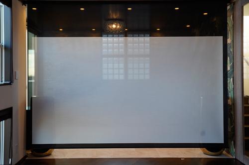 K邸 / 憧れのサウンドスクリーンとBeoLab50のリビングシアター