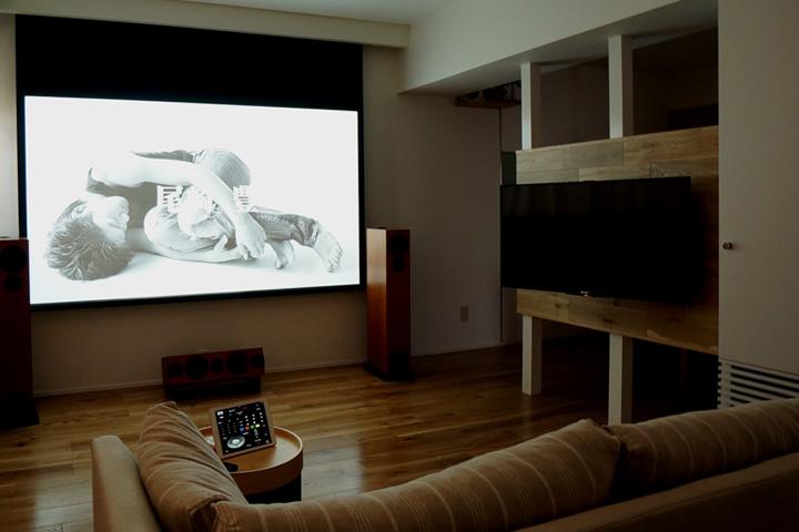 O邸 /マンションリフォームでシアターシステムを再インストール INTELUX