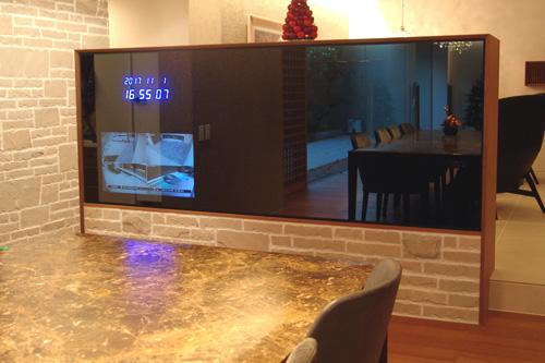 Y邸 / INTELUXを使ったシンプルかつダイナミックな映像の愉しみを構築