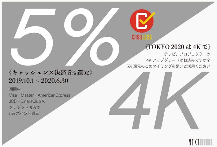 Image キャッシュレス決済5%還元